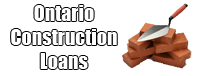Ontario Construction Loans And Mortgage Financing